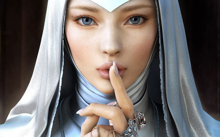 Ultra Nun Artwork Fantasy Girls Wallpapers Pinterest Artworks