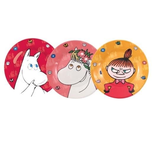 Moomin Plates / Huset