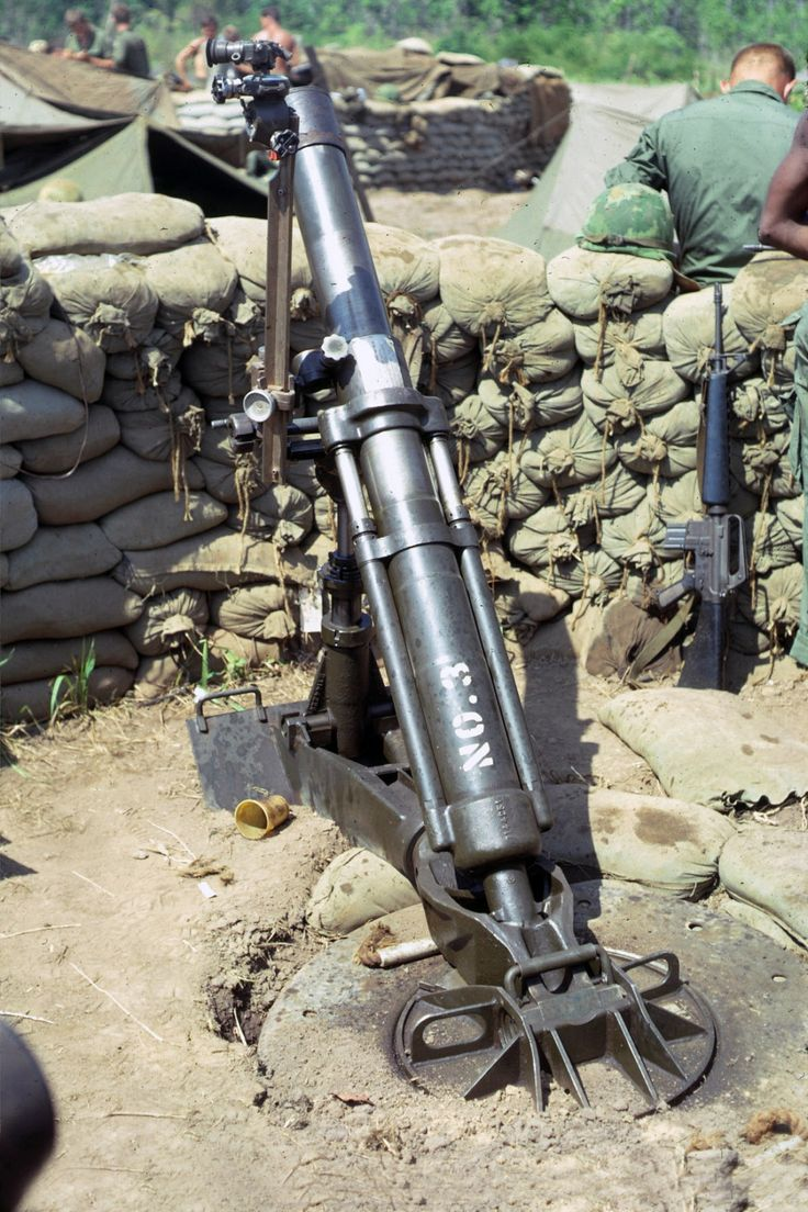 Vietnam Mortar Fire : Images about military weapons us contemporary on