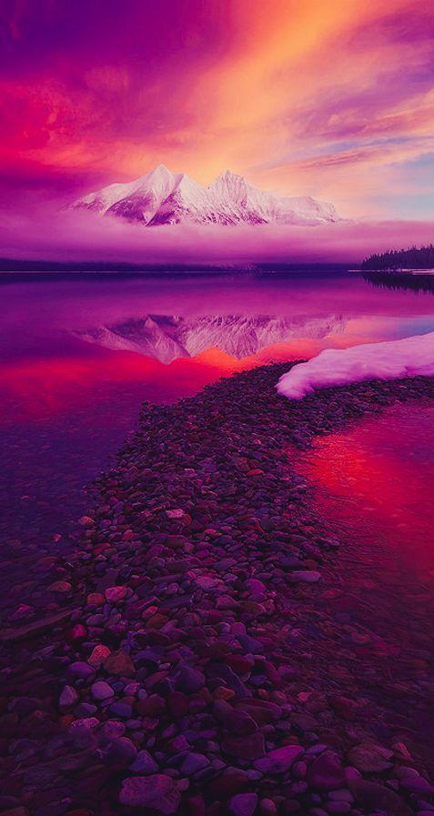 Stanton Mountain from Lake McDonald at Glacier National Park in northwestern Montana • photo: Ryan Dyar on Flickr
