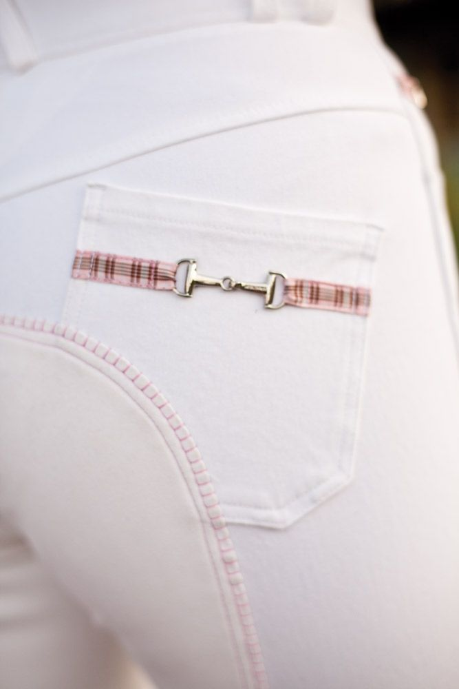 I would love a pair for schooling shows -- how fun!  Exclusively Equestrian Breech