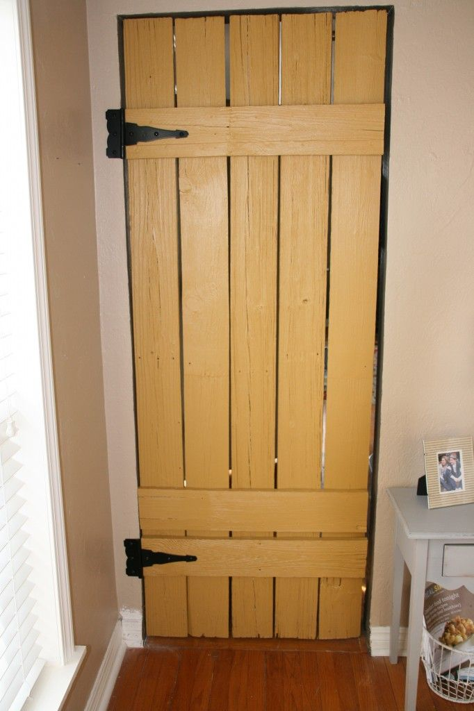 DIY barn door I think this will be a good intro to my basement