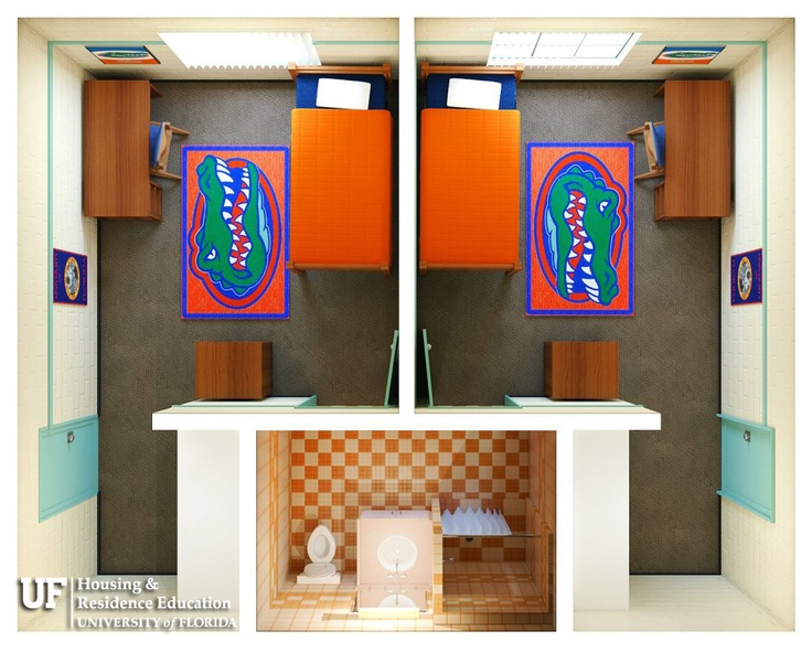 Florida Gators Dorm Rooms