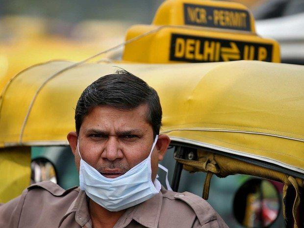 Poluição atmosférica da Índia já pode ser vista do espaço