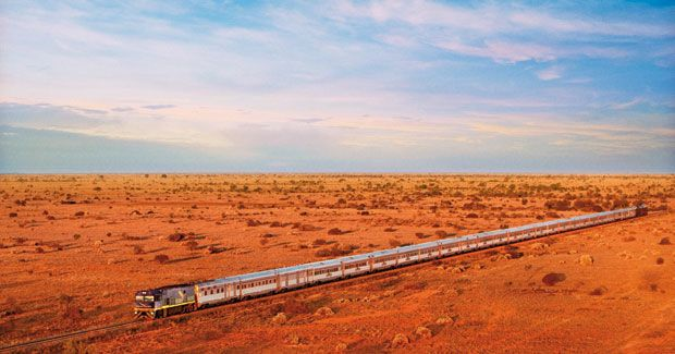 The Indian Pacific is the sixth longest train journey in the world (Great Southern Railways). Australia