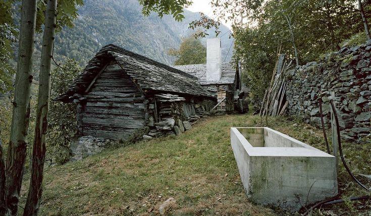 Umbau Casa d'Estate - Buchner Bründler Architekten - Linescio Switzerland - 2011