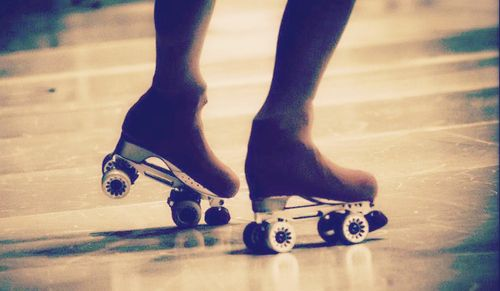 Put on skates ... and just for a moment forget about everything in the world.