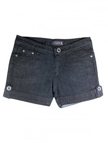 FROLL JEANS WOMENS ROLLED SHORT [FF0218-1002] - Rs 399.00 : FEEROL FASHIONS, The Fashion Collection