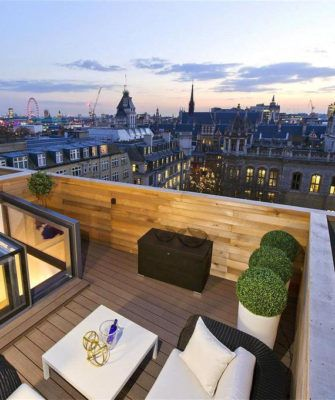 Rooftop with view on London