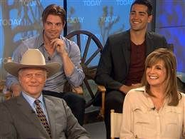 cast of Dallas on the today show