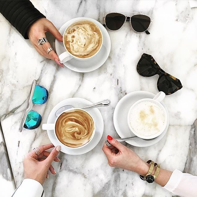 Coffee dates. Tag someone you are drinking coffee with today. #coffeenclothes #@diarylamode by coffeenclothes