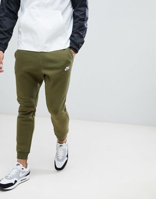 0964d73ac48b Nike Club Swoosh Jogger In Green 804408-395