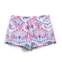 Fashion Women Boardshorts Quick-drying Beach Shorts Summer Shorts Women Floral Print Shorts