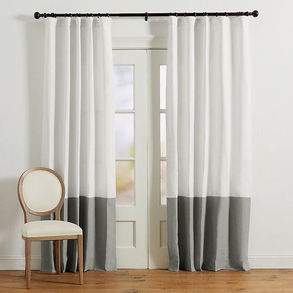 Grey Lined Curtains, Gold And White Curtains And