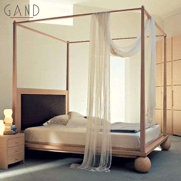 """Κρεβατοκάμαρα Sky 312861 Πάντα ονειρευόμασταν ένα κρεβάτι με """"ουρανό""""! Και το συγκεκριμένο είναι η απόλυτα μοντέρνα εκδοχή του! Σταματήστε να το ονειρεύεστε και κάντε το δικό σας!"""