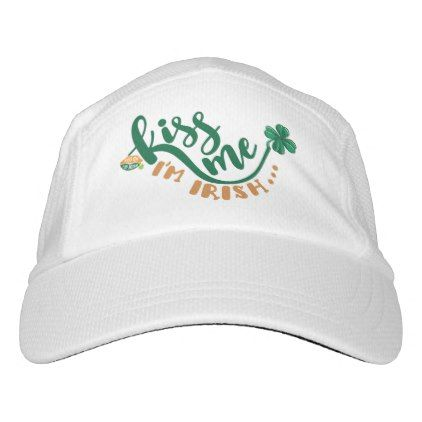 Kiss Me Im Irish Hat - st patricks day gifts Saint Patrick's Day Saint Patrick Ireland irish holiday party