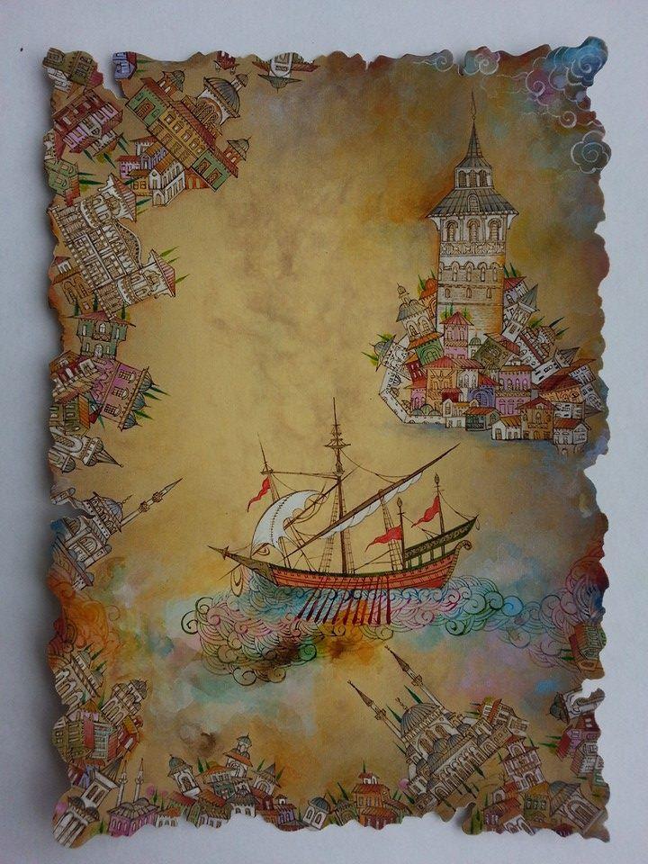 Nurten Ünver - Kız kulesi - gemi