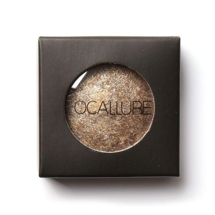 FOCALLURE Single Baked Eye Shadow Powder Makeup Palette in Shimmer Metallic Glitter Cream Eyeshadow Palette for. Click visit to buy #EyeShadow