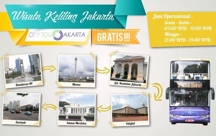 Wisata Keliling Jakarta City Tour Jakarta, GRATIS !!!!