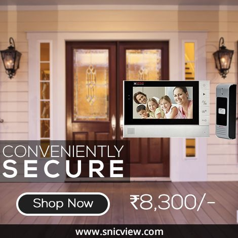 Is Your Home Sufficiently Secure? Enjoy convenient home security with CP Plus Doorphones which is Weather/vandal-proof and has Night vision to safeguard you 24/7.