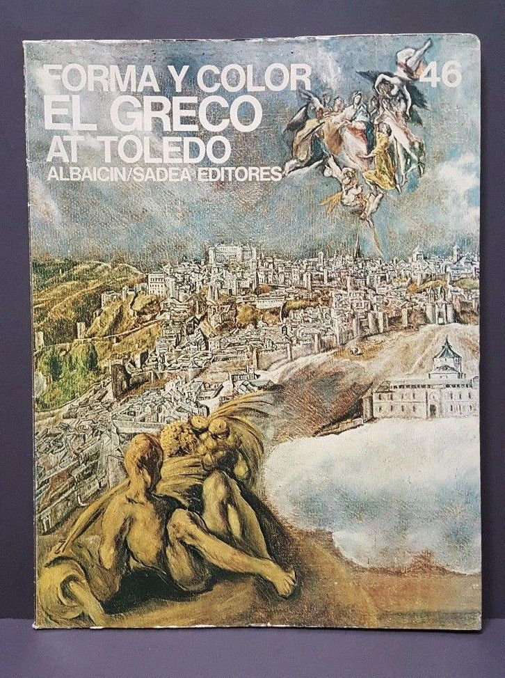 1969 El Greco Forma Y Color At Toledo Art Portfolio Edition