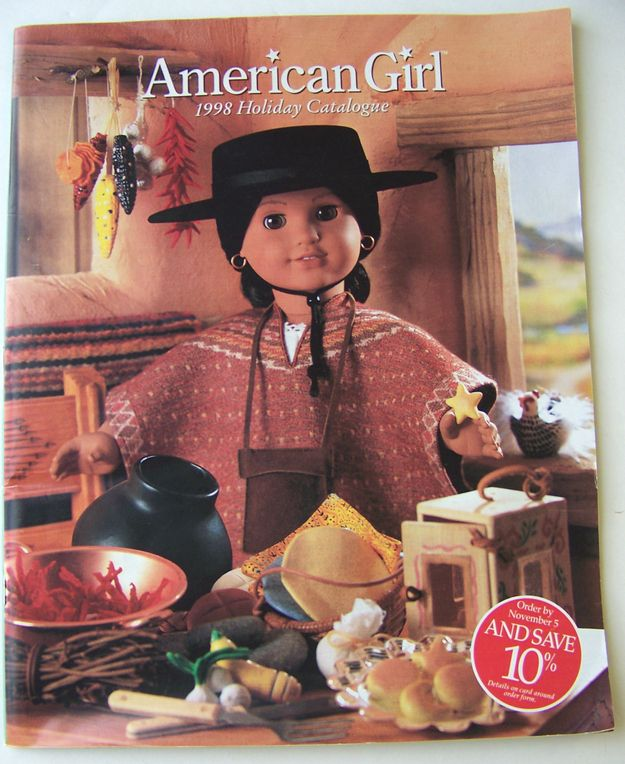 THE FEELS!! | Holiday 1998 | 10 American Girl Doll Catalogs From Your Past