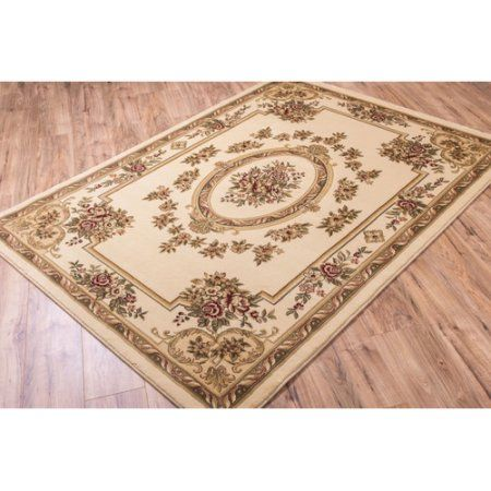 Well Woven Timeless Le Petit Palais Traditional Area Rug, 10'11 inch x 15', Beige
