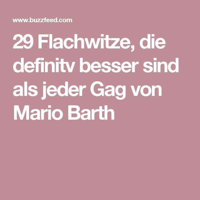 29 Flachwitze, die definitv besser sind als jeder Gag von Mario Barth