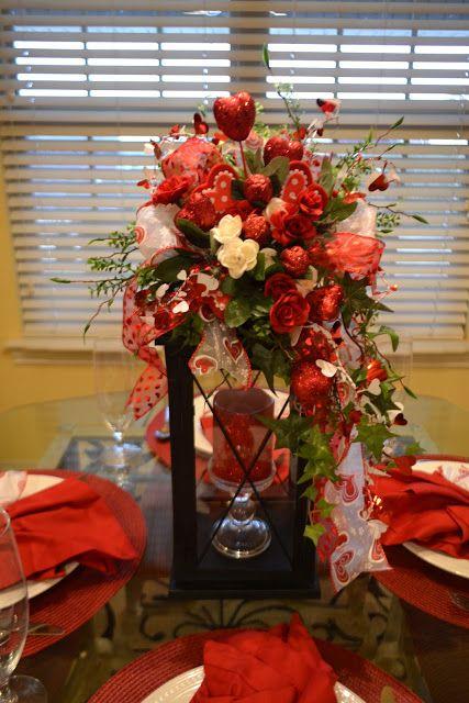 Kristen s creations a little valentine decorating