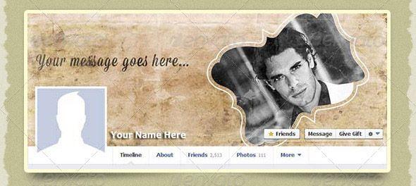 Vintage Facebook Timeline Cover