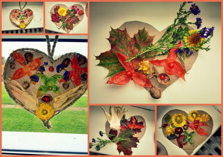 podzimní paleta