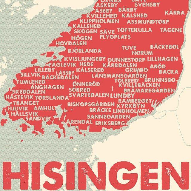 Hisingen - made by Andreas Österberg at Pop in Majorna