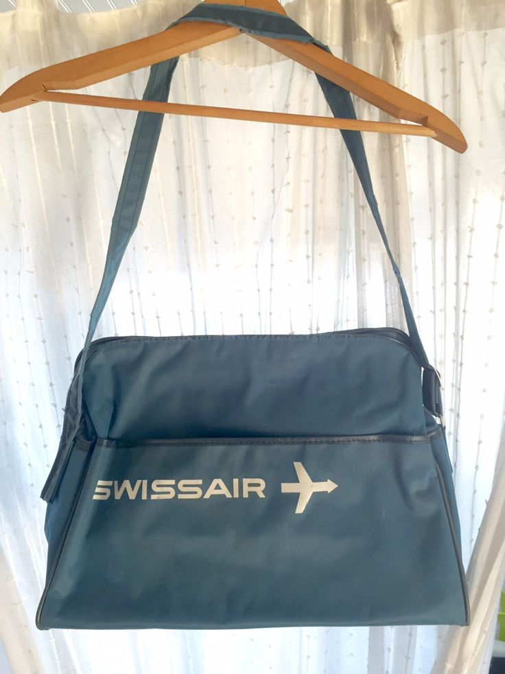 A personal favorite from my Etsy shop https://www.etsy.com/listing/470200755/vintage-swiss-air-airline-bag