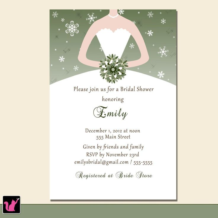 43 best Bridal Shower Invitations images on Pinterest Engagement - bridal shower invitation templates