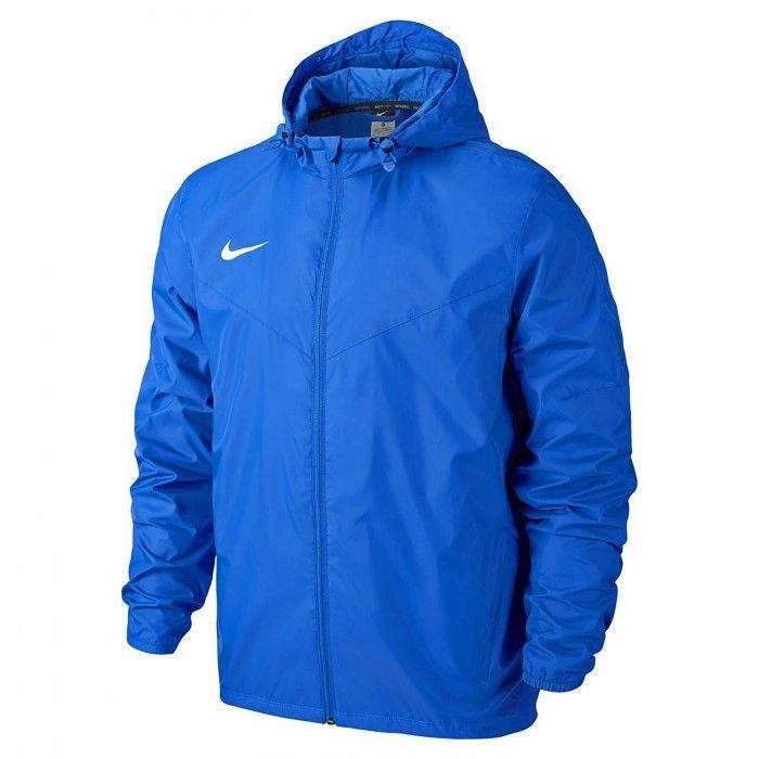 Nike Mens Rain Jacket Team Sideline Rain Jacket Royal Blue 645480
