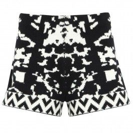 Intarsia wool shorts // Harvey Nichols sale