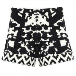Intarsia wool shorts // Harvey Nichols sale