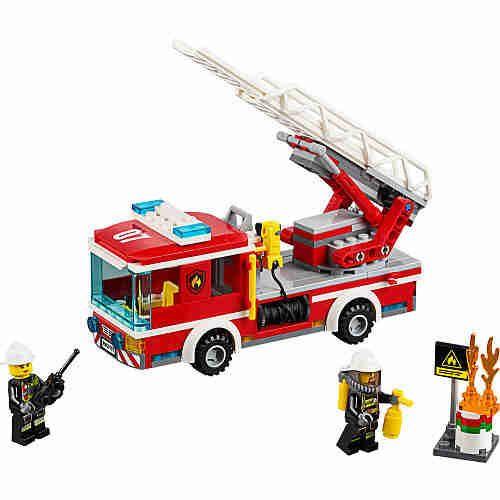 LEGO City Fire Ladder Truck $14 - http://www.gadgetar.com/lego-city-fire-ladder-truck/