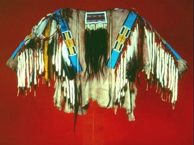 Nez Perce beaded shirt - Nez Perce people - Wikipedia, the free encyclopedia