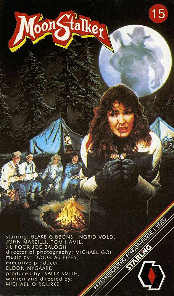 Moonstalker (1989) Slasher movies, Horror movie posters