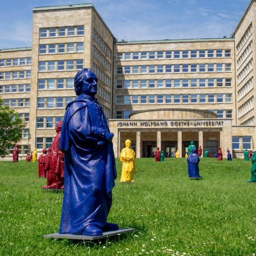 Frankfurt, Uni, Campus Westend, Goethe from Ottmar Hörl
