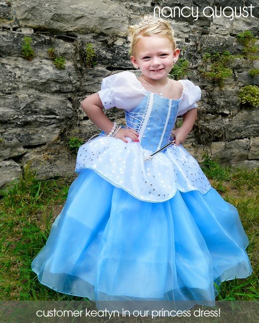 Little Adventures Deluxe Cinderella Costume: Cinderella Princess Dress: This Cinderella Princess Dress