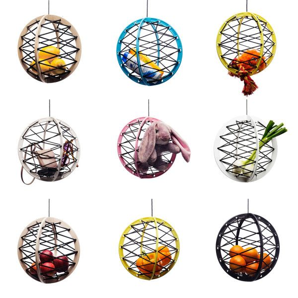 Pluk Suspended Storage Sphere in home furnishings  Category