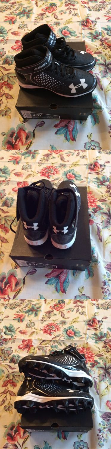 Youth 159118: New In Box Under Armour Renegade Rm Jr Boys Football Cleats Size 4.5 BUY IT NOW ONLY: $34.99