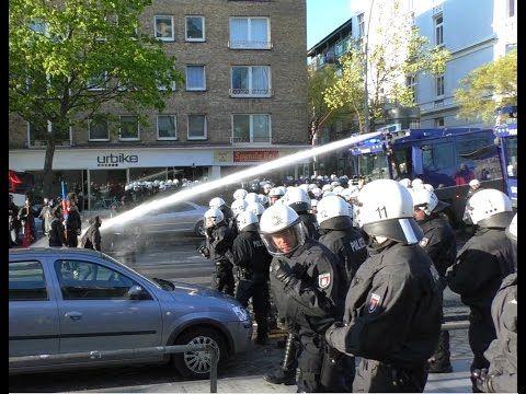 (No Comment) 1 Mai 2015 Hamburg Demo Schwere Krawalle/ Riots Hamburg (24:37)