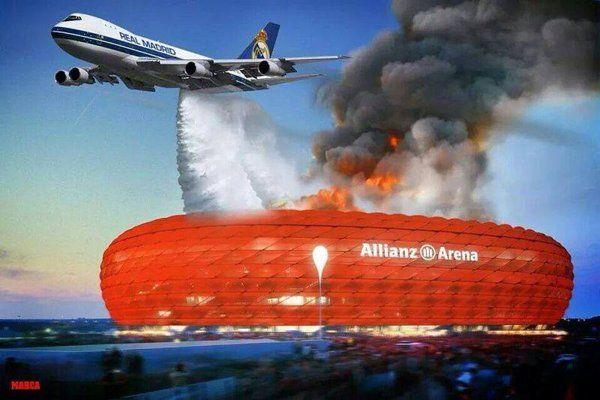 Los mejores memes del triunfo del Madrid al Bayern - Yahoo Eurosport ES