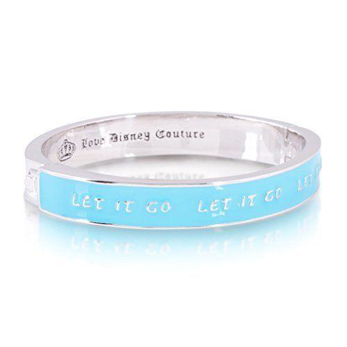 Disney Couture Frozen Let It Go Bangle Bracelet  Price : $75.00 http://www.twintreats.com/Disney-Couture-Frozen-Bangle-Bracelet/dp/B00QH04PFI