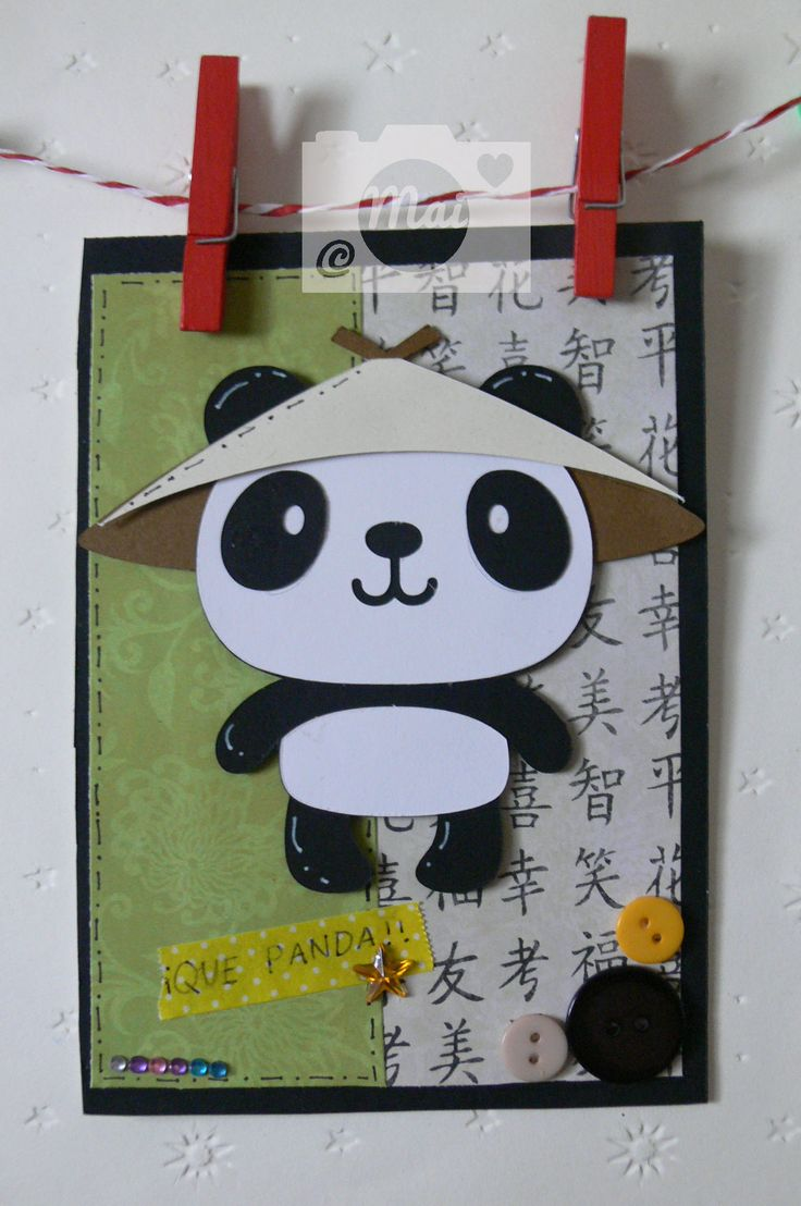 Tarjeta. Pan Panda