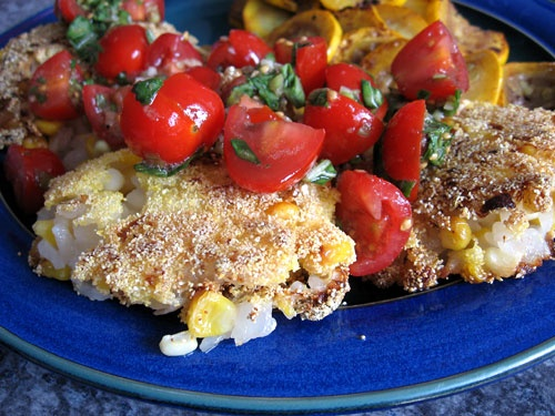 Parmesan Corn Risotto Cakes | Recipes to Try | Pinterest