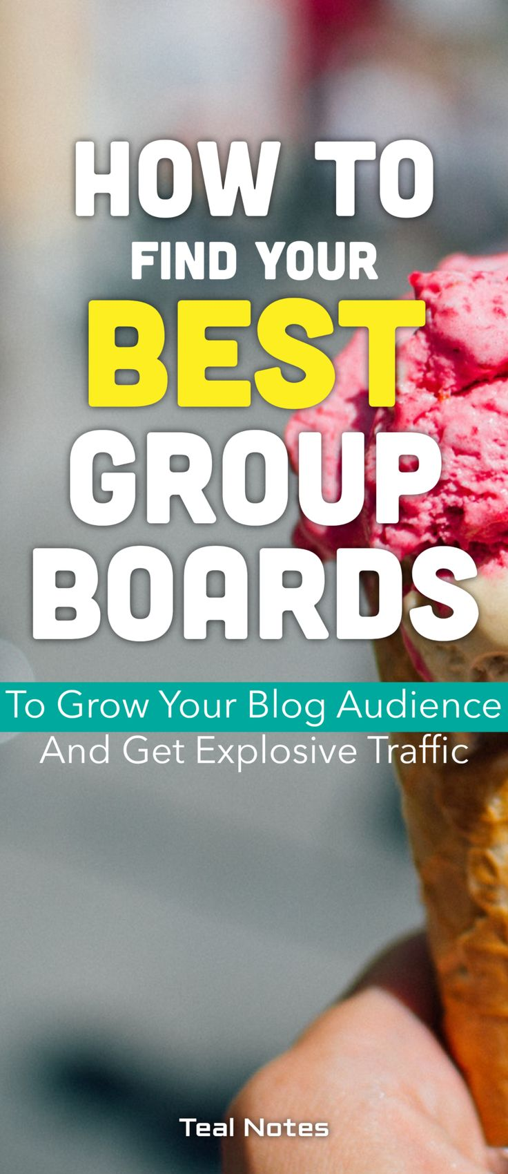 Grow your blog traffic with the best Pinterest group boards. How to find Pinterest collaborative boards.